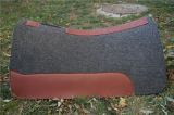 China Factory Wholesale Wool Felt Contoured Western Saddle Pad for Horses
