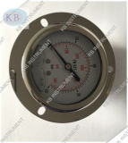 Lower Connection Liquid Filling Pressure Gauge