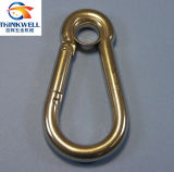 Stainless Steel DIN 5299 Snap Hook with Eyelet