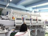 High Speed Computerized 4 Head Embroidery Machine with 9/12/15 Colors, Cap T-Shirt Uniform Embroidery Machine