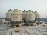 Open Counter Flow Round Water Cooling Tower