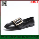 New Design Flat The Belt Shallow Mouth Lady Shoes
