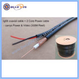 CCTV Cable Composite Cable Rg59+2c Power