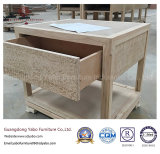 Good Design Hotel Furniture with Wooden Bedside Table (YB-AE-2)