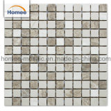 High Quality Price Wall Cladding Material Crema Marfil Square Cheap Marble Mosaic