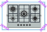 Table Gas Stove Gas Hob Kitchen Appliance (JZS65005)