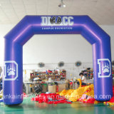 Retangle Design Entrance Arch Inflatable Glow Arch for Trade Show