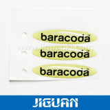 Cheap Company Logo Epoxy Logo Sticker, Epoxy Resin Sticker