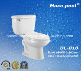 Sanitary Wares Two Piece Water Closet (DL-010)