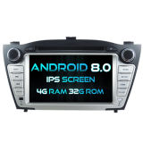 Witson Eight Core Android 8.0 Car DVD for Hyundai IX35 2009-2013 4G ROM 1080P Touch Screen 32GB ROM IPS Screen