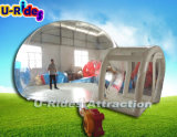 Hot waterproof inflatable tent air inflatable transparent bubble tent clear dome tent for camping