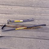 """18"""" Nail Puller Cold Rolled Steel Utility Wrecking/Pry Bar Crowbar"""