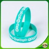 Wholesale Price Personalized Logo Silicone Bracelet for Party