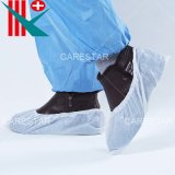 Disposable Waterproof Plastic PE Shoe Cover, Made by Machine
