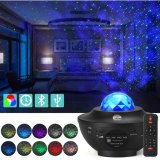 Music Speaker LED Star Master Projector Colorful Sky Starry Projector