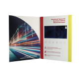 LCD Screen Video Invitation Card for Business