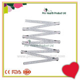 2 Meter 10 Folds Measuring Wooden Spring Joint Foldable Ruler