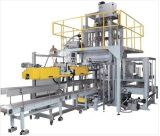 Washing Powder Packing Machine with Conveyor and Sewing Machine