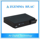 Canada America Mexico TV Decoder ATSC + Satellite Receiver DVB S/S2 Support H. 265 Zgemm H5. AC