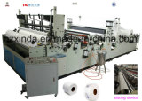 Auto Toilet Paper and Maxi Rolls Rewinding Machine