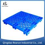 Heavy Duty HDPE Stackable Rack Steel Reinforced Industrial Plywood Plastic Pallet