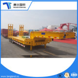 High Quality Lowbed Semi Trailer Use to Transport Large Heavy Equipment for Sale