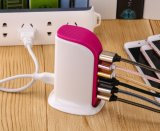 2018 Factory Price Multi USB Adapter Portable Charger Desk Top 6 Ports USB Fast Mobile Phone Charger