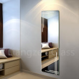 Frameless Waterproof Wall Silver Mirror for Home Decoration/Makeup/Bathroom/Dressing