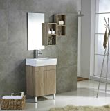 Small Size Modern Bathroom Cabinet with Wash Basin Plywood Material From Factory (2001)