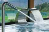 Stainless Steel Massage Shower Waterfall for SPA Pool
