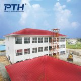 China Prefabricated House Hotel Design with Electrical and Plumbing Located in Gabon Africa