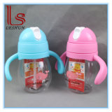 Eco-Friendly Baby Feeding Bottle/Kids Water Bottle with Straw