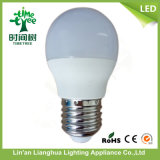 Ce RoHS Approval 3W LED Light Bulb with Aluminum and PBT Plastic
