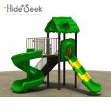 Cheap and Good Quality Outdoor Playground Equipment with S Slide