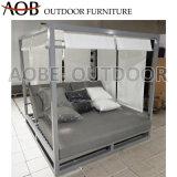 Modern Outdoor Home Garden Hotel Resort Patio Furniture Gazebo Beach Bed Cabana Sofabed Sunbed Daybed