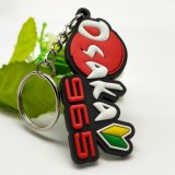 Wholesale Customized Cartoon Anime Key Tag Promotional Items Key Fob Soft PVC Rubber Key Holder Supplies Acrylic Keychain Products with Free Design
