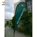 Advertising Trade Show Teardrop Beach Feather Flying Banner Stand Custom Feather Flag Banners