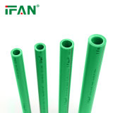 Ifan PPR Pipe and Fittings for Water Supply Pn25 20-110mm Plastic Pure PPR Pipe