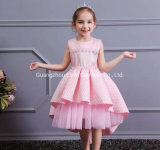 Baby Wear Girls Party Garment Ball Gown Princess Frock Lace Sweet Long Dress