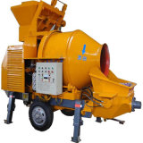 Concrete Pumping Capacity 30m3/H Jbt30 Concrete Pump with Mixer