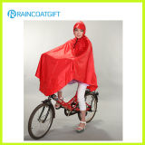 Waterproof Polyester PVC Riding Raincoat (Rpy-030)