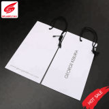 Custom Cheap Clothing Cardboard Paper Hang Tag for Suits