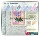 """12""""X12"""" Customized Paper Scrapbook Album Kit"""