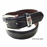 Classical Jeans PU Leather Children Belt Made in China