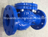 DIN ductile iron flanged end PN16 lift check valve manufacturers