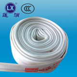 Lined PVC Flexible Fire Service Hose Engineering Fire Hose