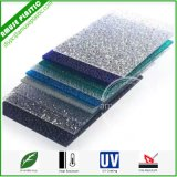 Polycarbonate PC Embossed Solid Frosted Diamand Colorful Sheets for Decoration