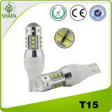 High Quality 12V White T15 80W Auto LED Light