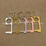 Antimicrobial EDC Hygiene Hands Cleankey No Touch Tool Door Opener Keychain