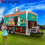 Ice Cream Pizza OEM Accept Mobile Food Trailer Mobile Food Truck Trailer Carts